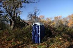 Bio toalett Arkivbild