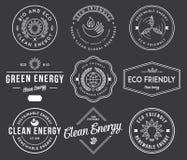 Bio- und Eco-Energie 1 Schwarzes Stockfotos