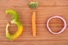 Bio verdura Foto de archivo libre de regalías