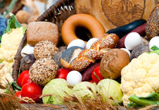 Bio voedsel Stock Afbeelding