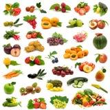 Bio vruchten en groenten Royalty-vrije Stock Afbeeldingen