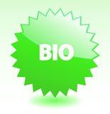 Bio web design element. Royalty Free Stock Photos