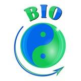 Bio- yin yang Immagini Stock Libere da Diritti