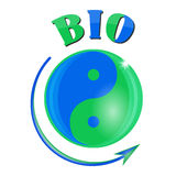 Bio yin-yang Royalty Free Stock Images