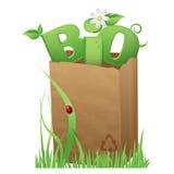 Biobeutel Stockfoto