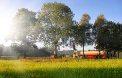 biobränslebehållare royaltyfri bild