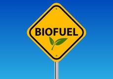 Biobrandstofillustratie Stock Afbeeldingen