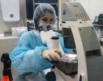 Biocad研究实验室  免版税库存照片