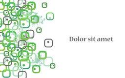 Biocellen abstracte achtergrond Royalty-vrije Stock Afbeelding