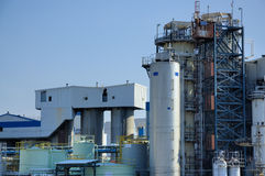 biochemical fabrik Royaltyfria Bilder