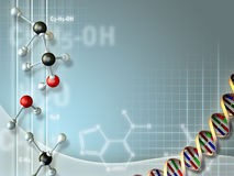 Biochemical industry Stock Image