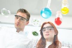 Biochemie obrazy stock