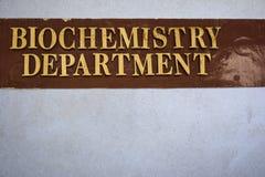 Biochemie-Abteilung Stockfotos
