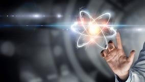 Biochemie en technologieën Gemengde media royalty-vrije stock fotografie