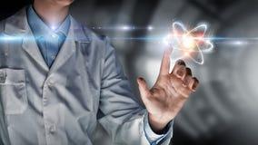 Biochemie i technologie Mieszani środki zdjęcia stock