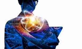 Biochemie i technologie Mieszani środki obraz royalty free