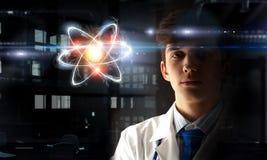 Biochemie i technologie Mieszani środki obrazy stock