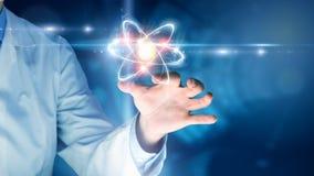 Biochemie i technologie Mieszani środki zdjęcie stock