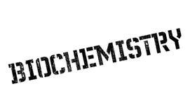 Biochemie rubberzegel stock foto
