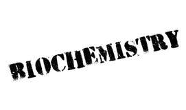 Biochemie rubberzegel stock fotografie