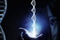 Biochemii eksploracja i nauka Mieszani środki obrazy royalty free