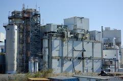 Biochemische fabriek Stock Fotografie