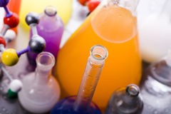 Biochemistry and atom Stock Photos