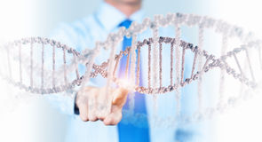 Biochemistry research Stock Images