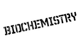 Biochemistry rubber stamp. Grunge design with dust scratches. Effects can be easily removed for a clean, crisp look. Color is easily changed Royalty Free Stock Images
