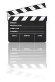 bioclapboardreflexion fotografering för bildbyråer