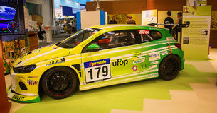 Bioconcept  Scirocco Car Was Presented on Green Week Royalty Free Stock Photo