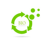 Biodegradable abstract vector icon Stock Photo