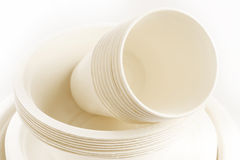 Biodegradable packaging Stock Images