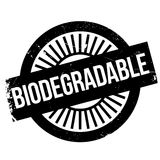 Biodegradable stamp rubber grunge Stock Photo