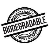 Biodegradable stamp rubber grunge Stock Photography