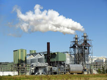 Biodiesel plant Stock Photography