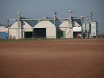 Biodiesel plant factory on spain stock image