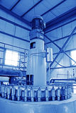 Biodiesel production equipment in a factory Royalty Free Stock Photography