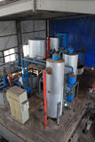 Biodiesel produkci wyposażenie w fabryce Zdjęcia Royalty Free