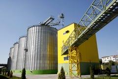 biodieselfabrik Royaltyfri Bild