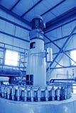 Biodieselproduktionutrustning i en fabrik Royaltyfri Fotografi
