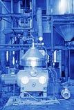 Biodieselproduktionutrustning i en fabrik Fotografering för Bildbyråer