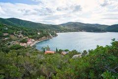 Biodola, Portoferraio, Isle of Elba. royalty free stock image