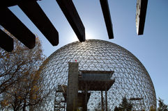 Biodome central de la Science Image stock
