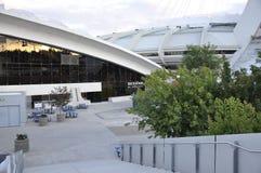 Biodome-Gebäude im Park olympisch von Montreal in Quebec-Provinz von Kanada lizenzfreie stockfotografie