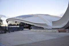 Biodome-Gebäude im Park olympisch von Montreal in Quebec-Provinz von Kanada lizenzfreie stockfotos