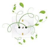 Bioenergie vektor abbildung