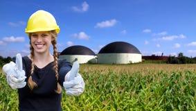 Bioenergy Royalty-vrije Stock Foto