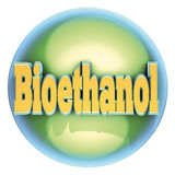 Bioethanol piłka ilustracja wektor
