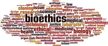 Bioethics word cloud